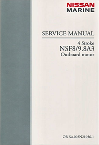 nissan 4 stroke nsf8a3 nsf9 8a3a factory service manual rh maxrules com nissan marine service manual nissan outboard service manuals in pdf format