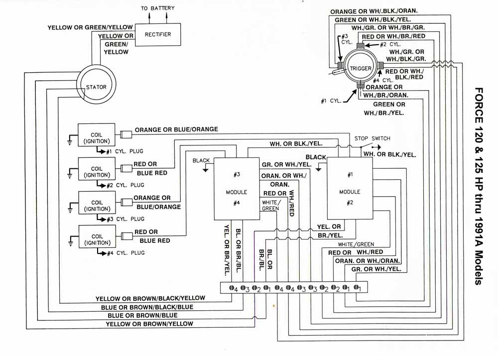 120_125_thru91A_CD 1990 bayliner capri wiring diagram wiring diagram and schematic 1992 bayliner capri wiring diagram at panicattacktreatment.co