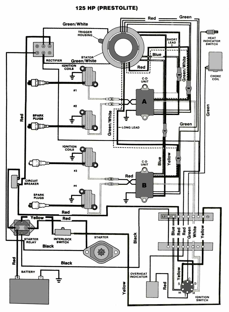 Chrysler 115 Wiring Diagram Library Evinrude Free Picture Schematic 85 Hp Outboard Engine 1980 Mercury