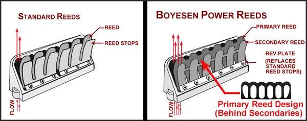 Boyesen Composite Performance Reeds For Johnson