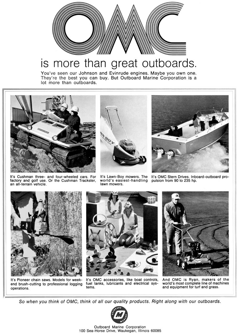 Old Outboard Literature Picture Gallery -- MASTERTECH MARINE
